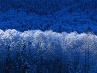 зима красочная