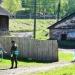 Экологический поход по Чусовой 2010. Фотоотчет. Уборка территории завода.
